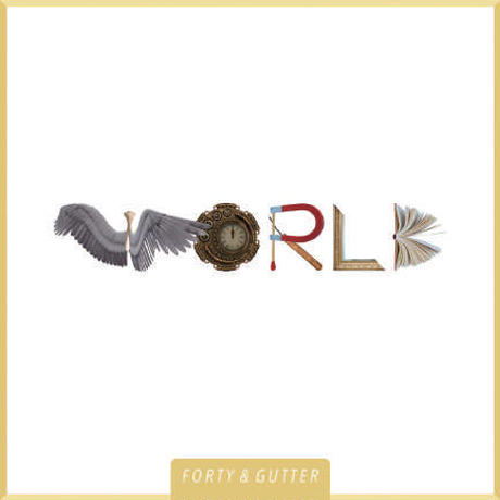 40 & GUTTER / WORLD [CD]