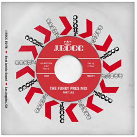J Rocc Funky President Edits Vol. 4: The Funky Pres Mix Part 1&2 [7INCH]