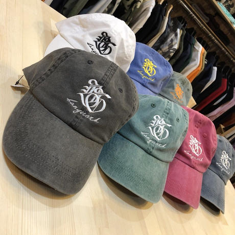 Lef deep×Banguard 6panel cap(mos green)