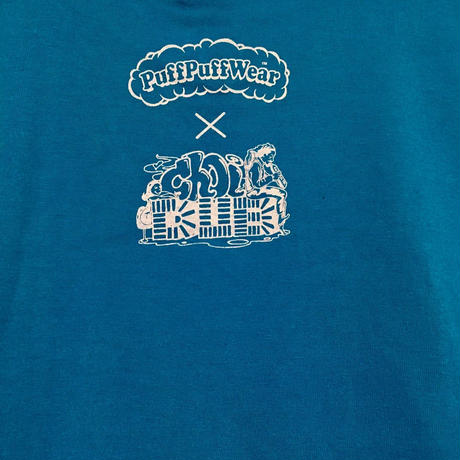 CHOIパフ TEE (TURQUOISE BLUE)