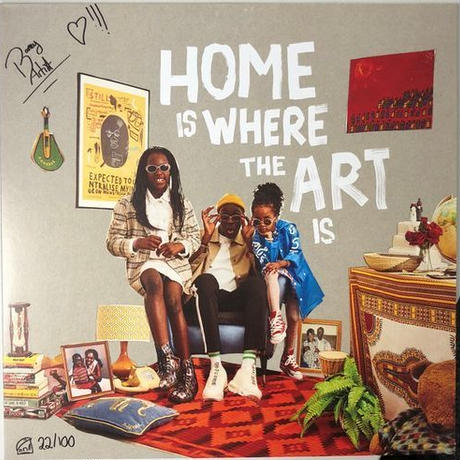 BARNEY ARTIST / HOME IS WHERE THE ART IS [LP]