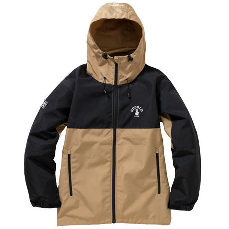 NO.556 SWITCHING SHELL JKT (BROWN/BLACK)