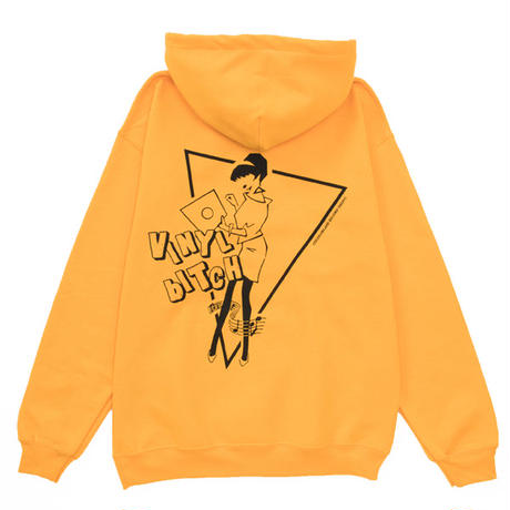 VINYL BITCH NOTE&GIRL HOOD (YELLOW)