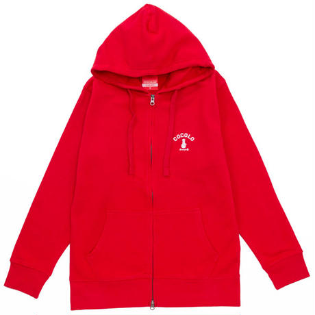 BACK BONG ZIP PARKA (RED)