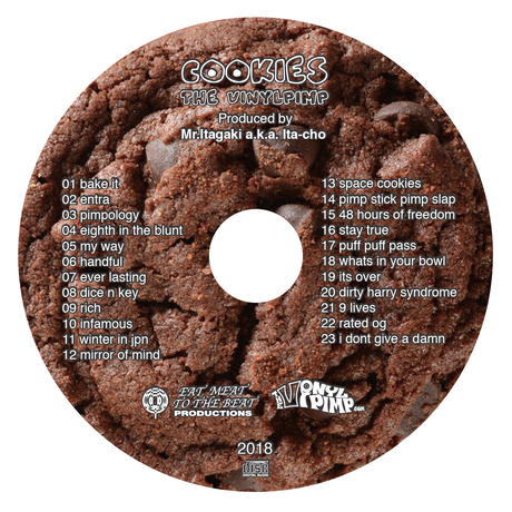 Mr.Itagaki a.k.a. Ita-cho - vinylpimp / cookies [CD]