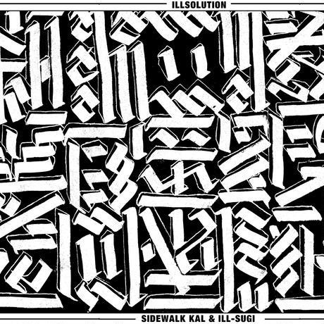 ILL-SUGI & SIDEWALK KAL / ILL SOLUTION [TAPE]