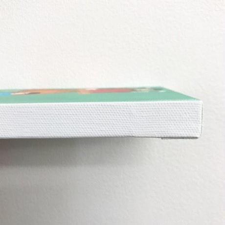 nona against the machine canvas art / 「cannabis」