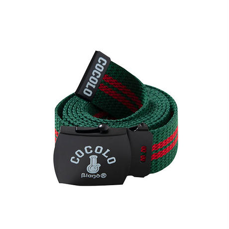 近日入荷 - ORIGINAL BONG GI BELT(GREEN / RED LINE)