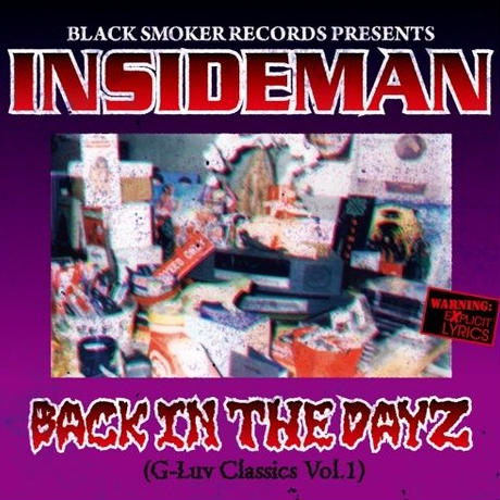 INSIDEMAN / BACK IN THE DAYZ - G-Luv Classics Vol.1 [MIX CD]