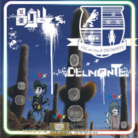 894 + DELMONTE = NYC / HAPPY BIRTH DEATH [CD]