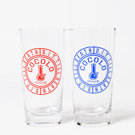 ORIGINAL BONG D.I.Y. GLASS(RED&BLUE)