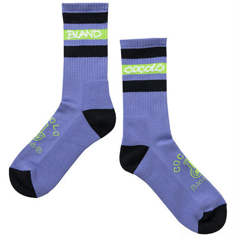 BONG LINE SOCKS (PURPLE)