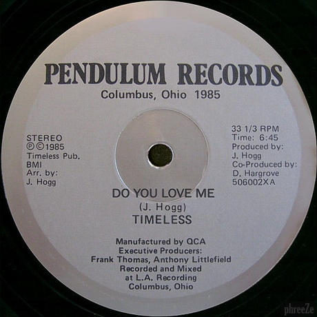 Timeless / Do You Love Me/You're The One [12inch]