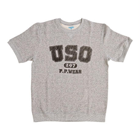 USO297 S/S SWEAT (GRAY)