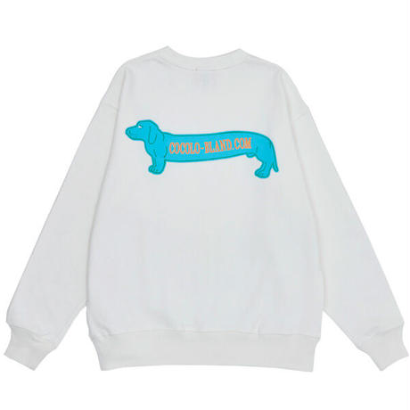 DAX CREW SWEAT(WHITE)