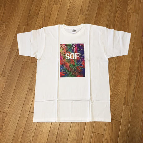 Soul Flower Pattern SOF Tee(White)