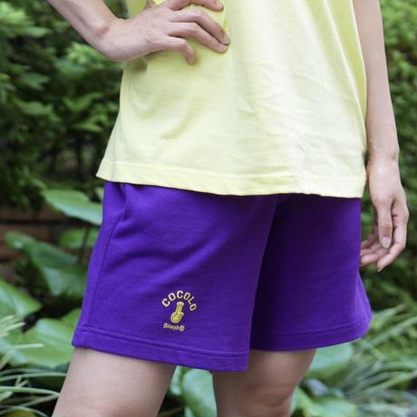 BONG SWEAT SHORTS (PURPLE)