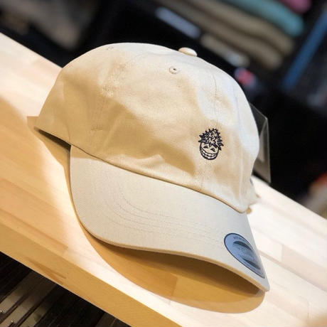 Back Channel × PRILLMAL LATE NIGHT MUNCH DAD CAP [CREAM]