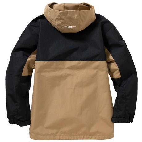 NO.556 SWITCHING SHELL JKT (BROWN/BLACK)