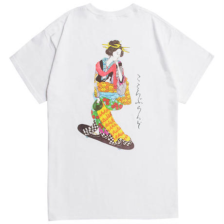 SUNSHOWER GIRL S/S TEE (WHITE)