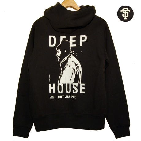 "DEEP HOUSE DOT JAY PEE ""ZIP PARKA"" [BLACK]"