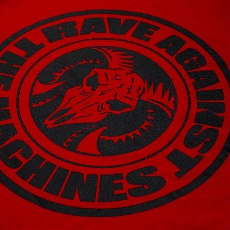 【X.I.R.A.】Rave Against the Machines TEE (RED)