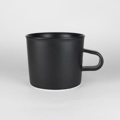 224porcelain スープマグ(黒)