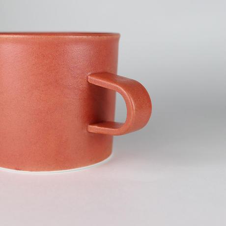 224porcelain スープマグ(赤)