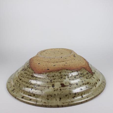 岡晋吾 灰瓷斑鉢