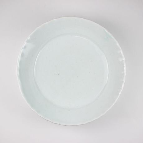 2245 輪花5寸取鉢(白瓷)