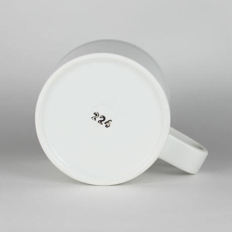 224porcelain スープマグ(白)