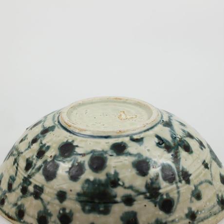岡晋吾 古安南花唐文オーバル鉢1