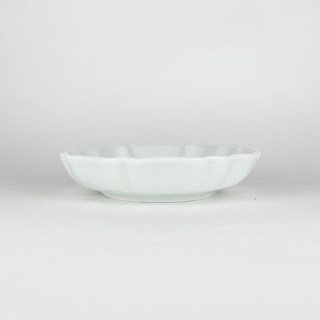 2245 輪花3寸皿(白瓷)