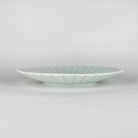 2245 桔梗5寸皿(白瓷)