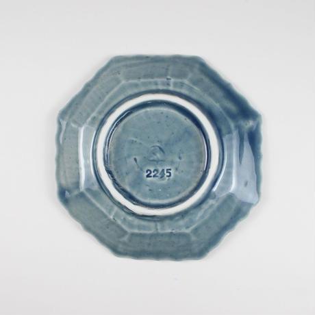 2245 輪花4寸皿(薄瑠璃)
