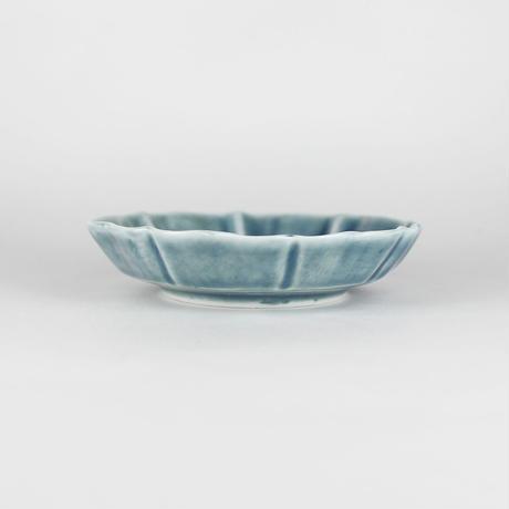 2245 輪花3寸皿(薄瑠璃)