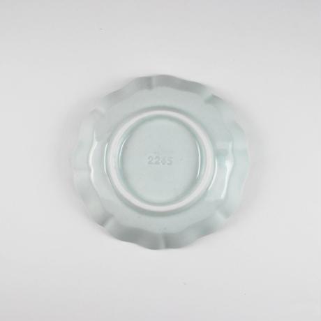 2245 輪花3寸皿(染付)