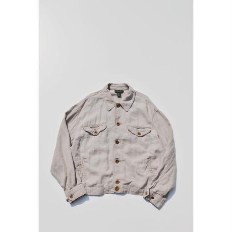 "90s ""J.Crew"" Linen Light Jacket"