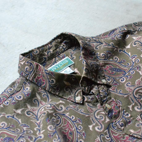 Paisley Cotton B.D Shirts