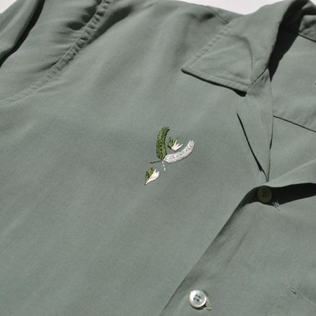 """OLD """"BRENT"""" Embroidery  Cotton Shirts"""