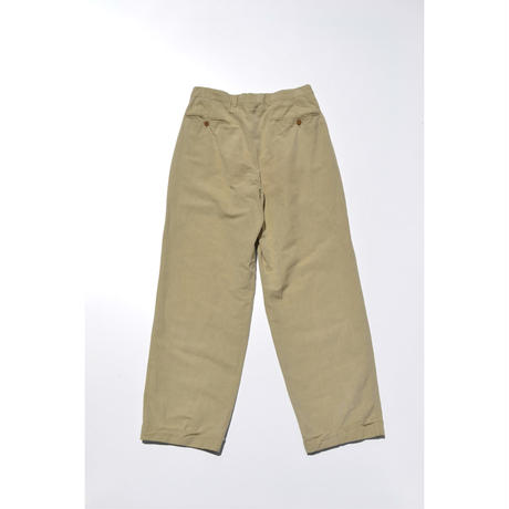 Euro Cotton Tuck Pants