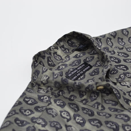 S/S All Pattern Silk Shirts