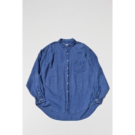"OLD ""GAP"" Indigo Linen Shirts"