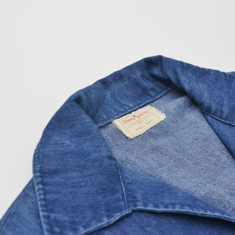 OLD S/S Denim Pullover Shirts