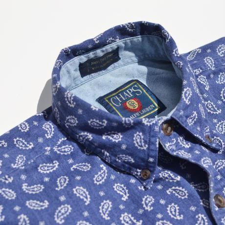 S/S Paisley Pattern Cotton B.D Shirts