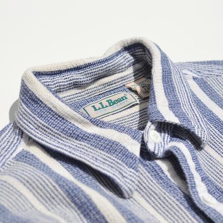 """""""L.L.Bean"""" S/S Cotton Striped Shirts"""