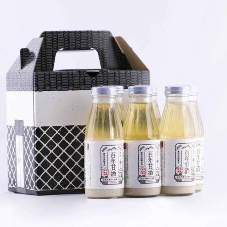 百年甘酒(ノンアルコール)セット 370g×6本入り [HAMSK-370×6]