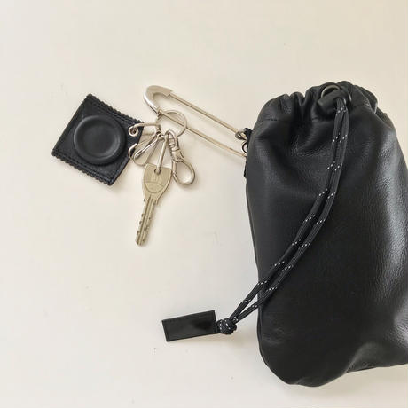LEATHER MINI PURSE_BK