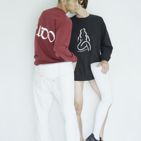 WILL Embroidery Sweatshirt_BK