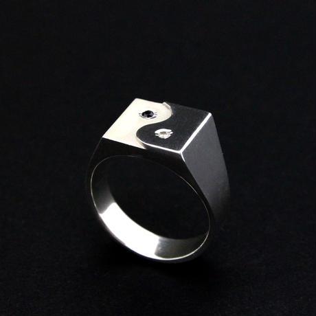 YIN YANG DIAMOND RING_S